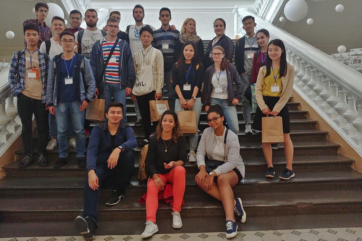 Students from various countries came to SPbPU to study business and entrepreneurship